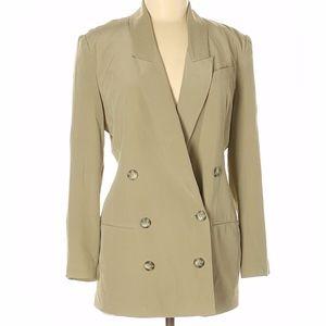 Hugo Buscati Collection Silk Blazer Sz 4P